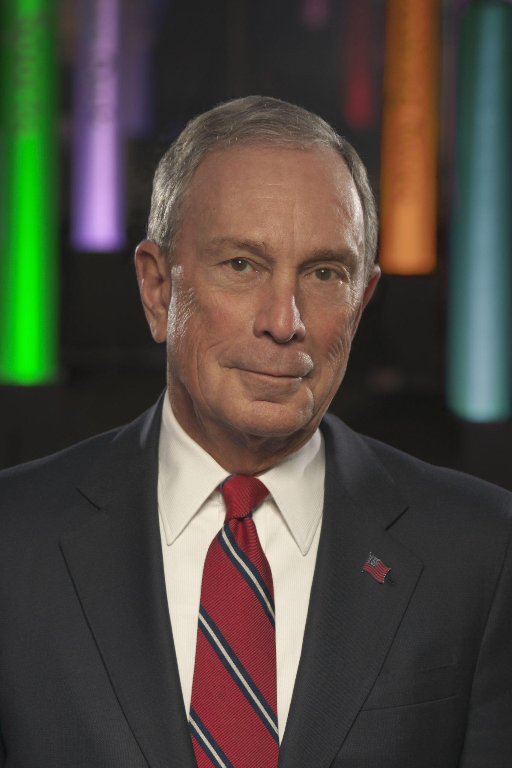 Mike Bloomberg headshot